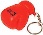 Red Glove Keyring Stress Balls